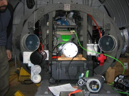 Part of the profiler is seen sitting on the ground.